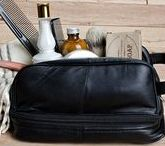 Wet Shaving Travel Kits and Shaving Bags / Wet shaving when you travel just takes the right gear. Your travel shaving brush and razor just need a nice home in a premium shaving bag.  ClubmanOnline.com has it all!
