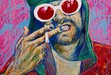 Kurt Cobain and the Nirvana