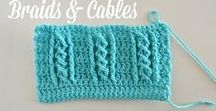 Crochet - overlays and cables