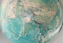 World Globe & Orrery