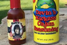 """Yummy Appetizers & Recipes / I love to cook and make up recipes and appetizers and I've written a cookbook called, """"Cookin Cajun"""" and a great Cajun spice in which we give part of the proceeds to help the great city of New Orleans recover from Hurricane Katrina. Check out """"Devin's Kickass Cajun Seasoning"""" here: http://www.devronn.com"""