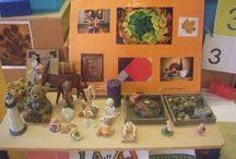 THEMA ART/ KUNST / Tips en ideeën uit mijn klas maar veel van internet!
