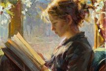 ITS BOOKS / To READ And ART / Art & books & quotes