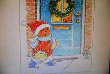 THEMA CHRISTMAS/ KERST/winter / Tips en ideeën