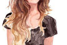Fashion sketches / Inspiration, design, fashion & style
