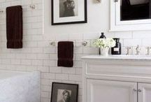 Bath & Powder room / Bathrooms and guest powder rooms- inspiration / by Decorating & Dreaming