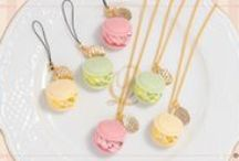 Q-pot. JAPAN Macaron Collection / Sweet and delicate traditional French confectionery, the all favorite Macarons recreated with an Q-pot. flair!