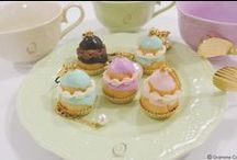 Q-pot. JAPAN Religieuse Collection  / Feeling romantic mood from french traditional sweets: Religieuse.