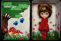 Blythe: dollcase / аксессуары для кукол