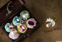 "Q-pot. JAPAN Jewel Whip Collection / Find the ""Jewelry"" whip cream in treasure!"