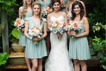 wedding bridesmaids/flower girl