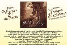 ¡Próximamente! / Fotos y descripción de las fiestas que celebramos en la familia franciscana, dentro de la Iglesia.