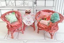 dollhouse: furniture / мебель для кукольного домика