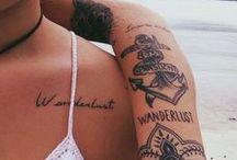 tattoos & piercings /