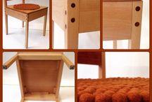 Chairs &  banch / Inspirerende stoelen
