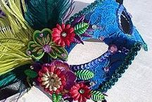 Venetian Masquerade Masks / Exclusive handcrafted Venetian Masquerade & Festive Carnival Masks, designed and manufactured in South Africa by VivaShe - www.vivashe.co.za