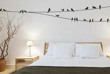 Onze nieuwe slaapkamers / Opberg- en stylingideeën voor de verbouwing.
