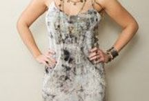 Handmade Silk Dress. Bohemian style. / Handmade Silk Dress - Naturally Died & Hand Crafted. Bohemian style. Hippie style.