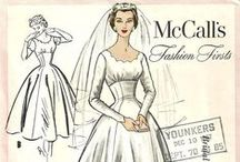 Vintage Pattern Covers / Vogue,Simplicity,McCalls,Butterick,Advance,Modenschau,Burda and etc.  Vintage Pattern Covers from All Over The World