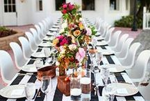 Tablescapes / Eat together more often.