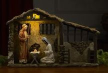 "Christmas: Real Life Nativity / ""Real Life Nativity"" set for Christmas ::: http://www.threekingsgifts.com/figure-sets/  ::: #Christmas, #Holidays, #Winter, #December"