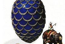 RUSSIAN FABERGA EGGS / by Alfred Ina