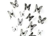Des papillons dans votre déco / Envie d'une décoration nature et originale, retrouvez nos idées et produits déco sur le thème des papillons pour embellir différentes pièces de votre maison.