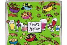 Derrière la porte / Découvrez toutes les boites en métal de Derrière la porte, signé Valérie Nylin et autres illustrateurs. Ces boites originales, colorées et designs sont conçues pour ranger vos accessoires et produits de la cuisine, du salon ou de la salle de bain.