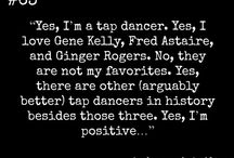 Dance Quotes / These are perfect expressions of how I feel, many that only another dancer would understand :) / by Vintage Vibes