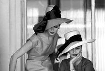 """°Hat-i-quette° / """"Wearing a hat is like having a baby or a puppy; everyone stops to coo and talk about it."""" (Louise Green)"""