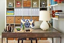 Simple Home Office Ideas / Simple Home Office Ideas for work-at-home entrepreneurs. Of course my favorite office space is still a lounge chair at the beach! / by Darlene Today
