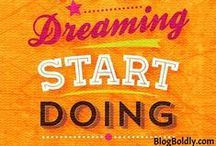 Motivational Quotes for Life and Biz / Motivational Quotes for Life and Biz: Motivational quotes are sometimes just what we need to keep going and not give up on our dreams.  / by Darlene Today