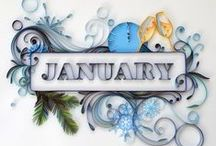 MONTHS & HOLIDAYS & SEASONS / MONTHS & SEASONS & HOLIDAY GREETINGS  ●  THANK YOU FOR FOLLOWING ME!  / by Retta Kay