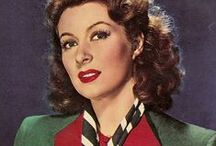 Greer Garson / The beautiful Miss Greer Garson. Legendary actress from Hollywood's Golden Age. / by Jessica Ellen