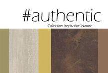 Inspiration Nature Authentic / A rustic spirit for a more contemporary desgin/ Un nouvel esprit rustique, campagnard, plus contemporain se dessine.