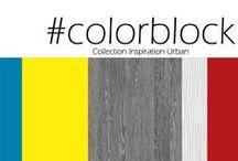 Inspiration Urban Color Block / Bold vibrant colours or monochromatic effects wtih a graphic spirit / Cacophonie joyeuse ou effet monochrome, dans un esprit graphique.