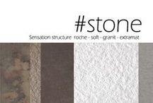Sensation texture Stone / Stimulez les émotions avec la matière / Stimulate emotions through the material