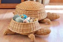 Корзинки,шкатулки,плетеные вещи.