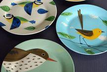 Porcelana / Pinturas em Porcelana que gostei