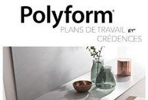 POLYFORM 2019 / Polyform® est désormais disponible dans une gamme plus large de matériaux stratifiés, surfaces et solutions produits.