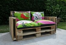 DIY with pallets / Creative and cheap ideas from wooden pallets