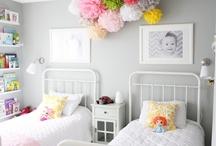 decor : kids / fun spaces for kiddos / by Carron DeGrass