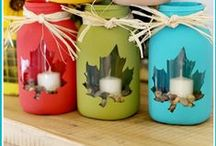 Let's Get Crafty! / Crafty ideas to help decorate your house or make gifts for family and friends.