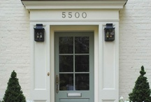 our house : exterior / the exterior needs some work, but it'll be perfect when it's done / by Carron DeGrass