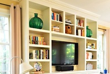 our house : family room / by Carron DeGrass