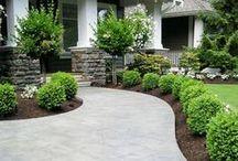 Yard and Landscaping Ideas / Backyard ideas, landscaping ideas, backyard plans, fire pits, deck ideas, garden ideas, patio ideas, diy decks, diy patios, diy pathways, diy garden boxes, plant care, planting ideas, diy landscaping, grass care