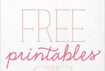 Free - Fonts and Printables / by Michelle Williston