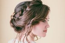 Hair Updos / All kinds of updos: Buns, crown braids, high buns, low buns, wedding updos, prom updos, homecoming updos.