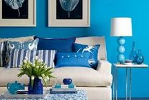 Something Blue: Standouts for the Living Room