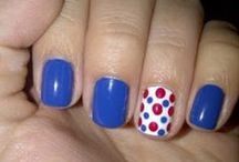 Fourth of July Fun / Fourth of July nails, fourth of july,fourth of july food, fourth of july outfit, Independence day decor, 4th of July fun, Fourth of July clothes, Fourth of July recipes, Independence day recipes and foods, Fourth of July activities